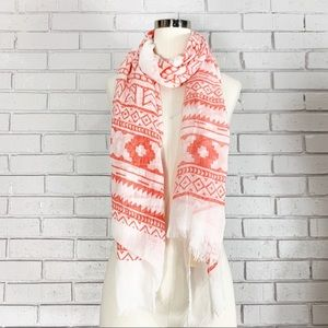 Do Everything In Love Aztec Print Scarf